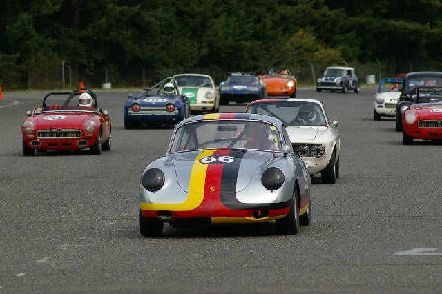 Invasion Of The Porsche 356 Racers!