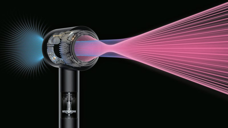 Dyson Redesigned The Hair Dryer So It 39 S Easier And Safer