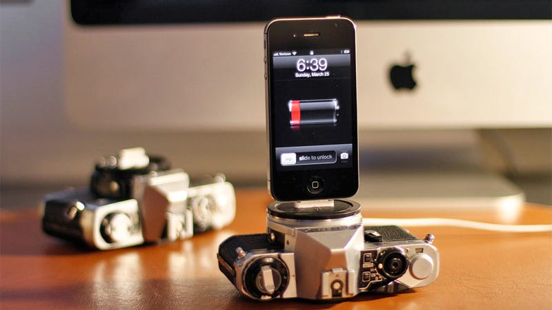 These Vintage Cameras Died So Your iPhone Could Have a Hip Place To Dock
