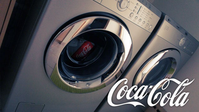 Remove Tough, Greasy Stains from Clothing with Coca Cola