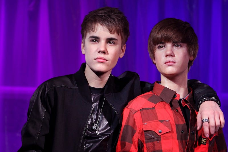 Justin Bieber's Wax Statue Ruined From Repeated Groping
