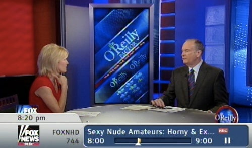 Bill O'Reilly and Laura Ingraham: 'Sexy Nude Amateurs'.