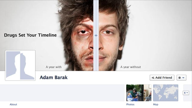 Can This Facebook Page Convince You Not to Take Drugs?
