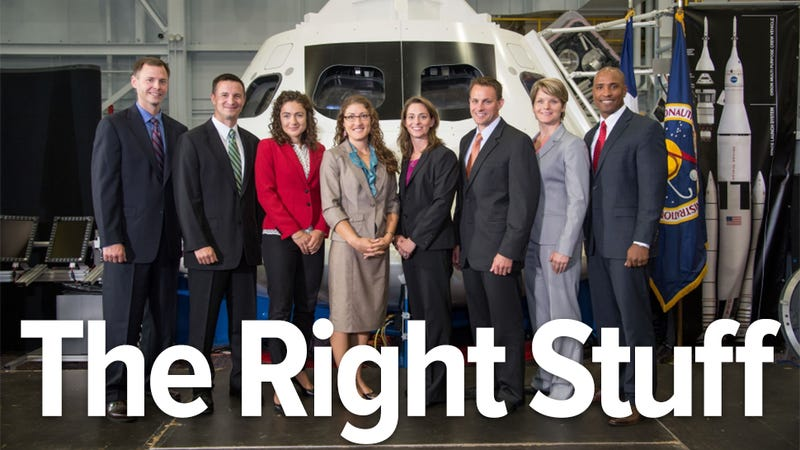 The Orion 8: Some of these men and women will go to Mars