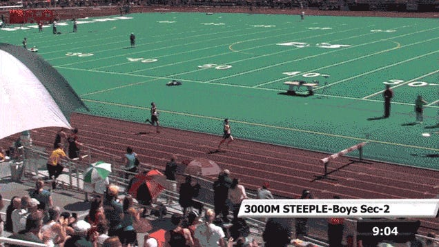 High School Runner Eats It Ten Meters From State Title