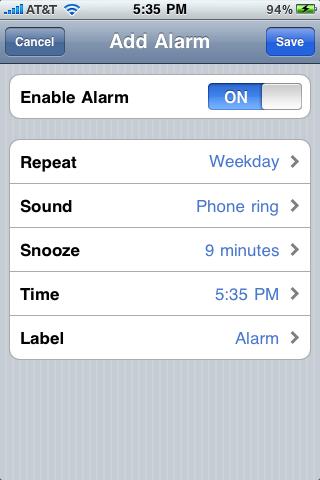 App Clock Gallery