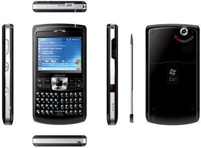 UBiQUiO 501 Cookie Cutter Pocket PC Smartphone