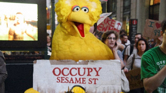 While We're At It, Why Not Occupy Sesame Street?