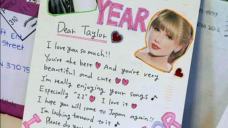 Hundreds of Unopened, Glittery Letters Addressed to Taylor Swift Discovered in Nashville Dumpster