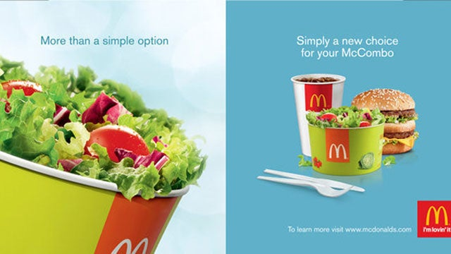 McDonald's to Offer Hip and Trendy Side Salads With Value Meals