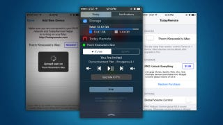TodayRemote Controls Your Mac's Music from the iOS No