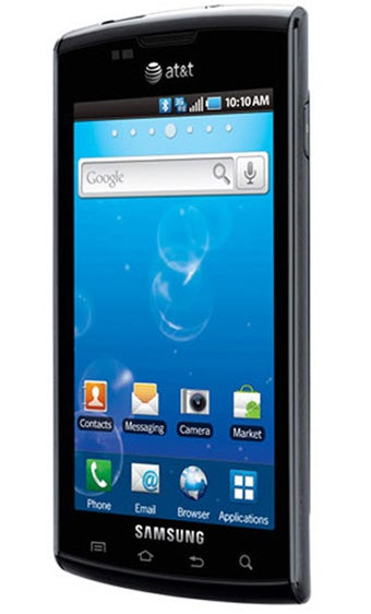Samsung Captivate: AT&T's First Serious Android Phone