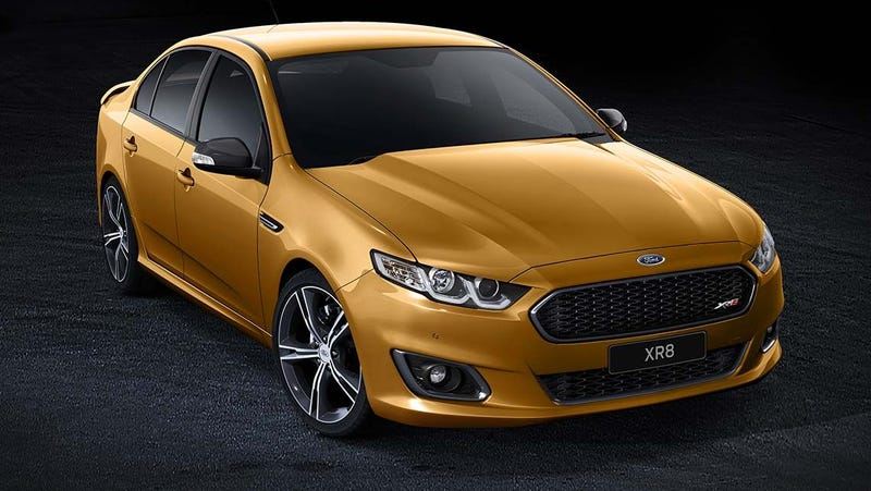 This Is The Last Ford Falcon
