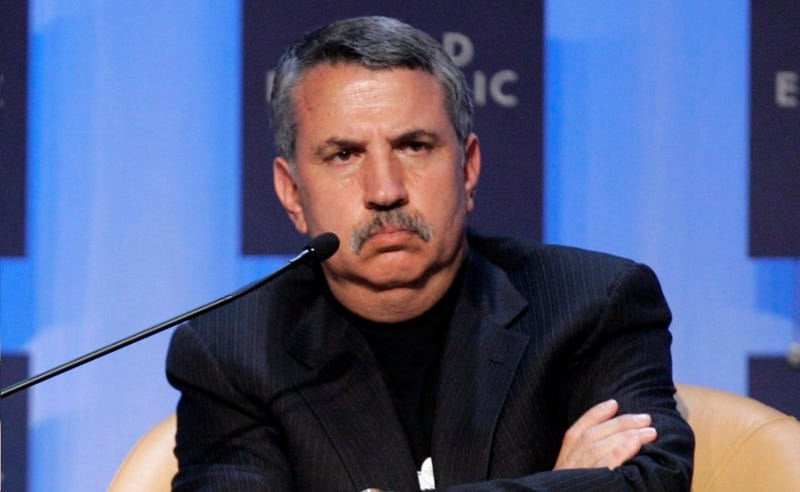 Thomas Friedman Writes an Ad for His Daughter's College Roommate