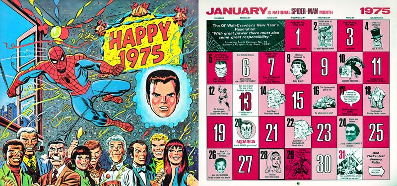 Celebrate New `1975 The Mighty Marvel Way