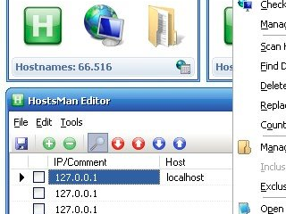 HostsMan Edits Your Windows Web Filters and Site Blocks