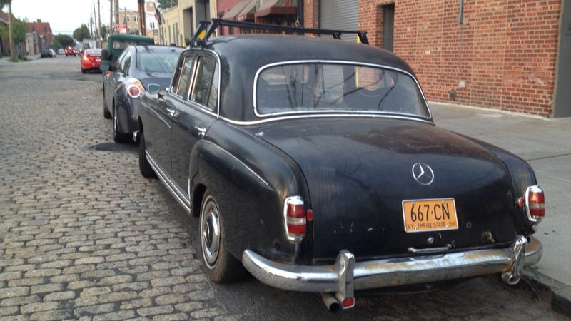 Take A Break And Relax With A Little Old Mercedes