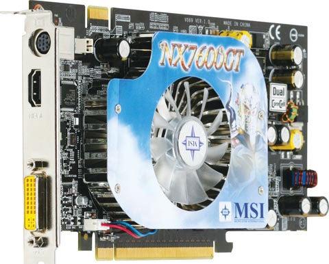 MSI NX7600GT Diamond Plus Gets HDMI Certification