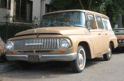 1965 International Harvester Travelall D-1000, With Bonus Proto-SUV Poll