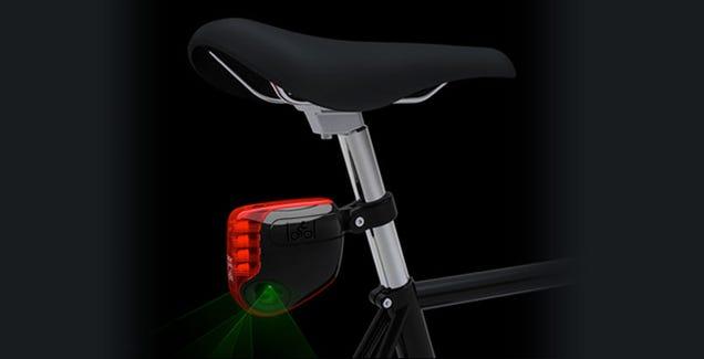 LightLane Virtual Bike Path to Become a Reality