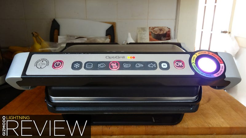 OptiGrill Lightning Review: It's a George Foreman With Laser Eyes