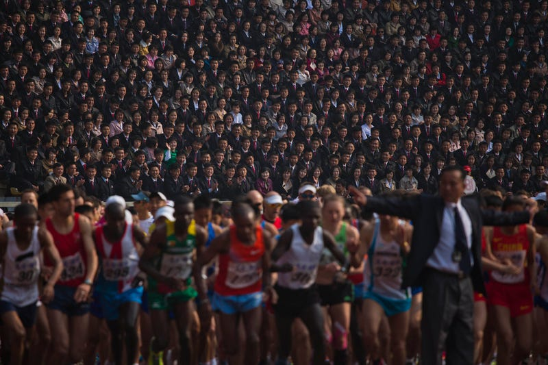 Scenes From North Korea's Marathon