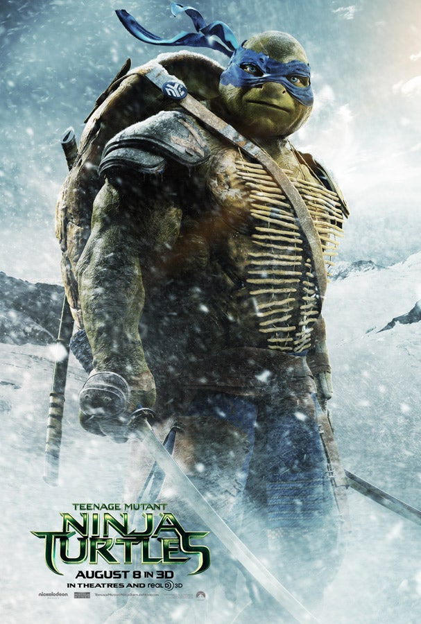 TMNT Character posters