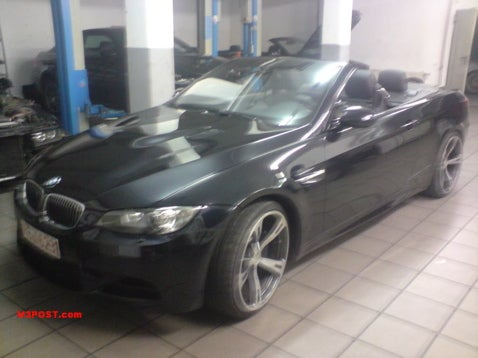 First E93 M3 Convertible Spied In Shop?