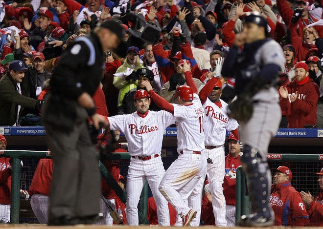 Us Did It! Phillies Are World Series Champions