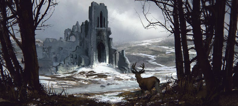 FOR LEASE: Old Castle (No Deer, Sorry)