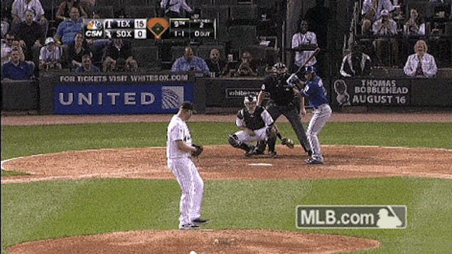 Adam Dunn Pitched In A Game Tuesday Night