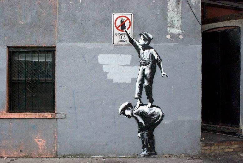 "Here's the Second Hidden Piece In Banksy's ""Secret"" NYC Street Show"