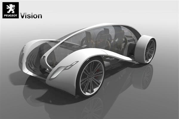 2008 Peugeot Design Contest Picks Top Ten Future Cars We'll Never See