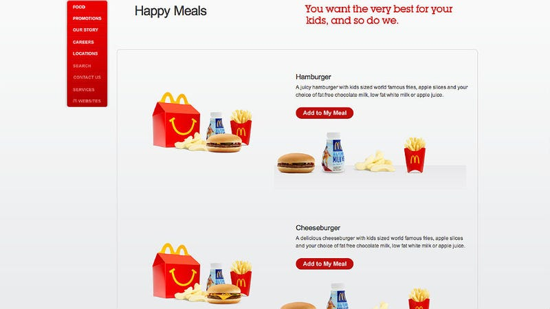 Teen Fights McDonald's 'Boys' and 'Girls' Happy Meal Toys--And Wins