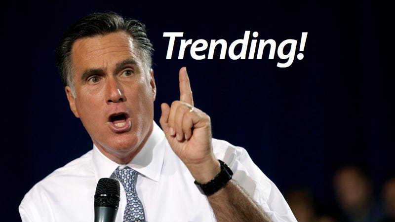 Romney 2012 Becomes First Political Campaign to Buy a Twitter Trending Topic