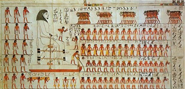 El truco egipcio para mover las enormes piedras de las pirámides