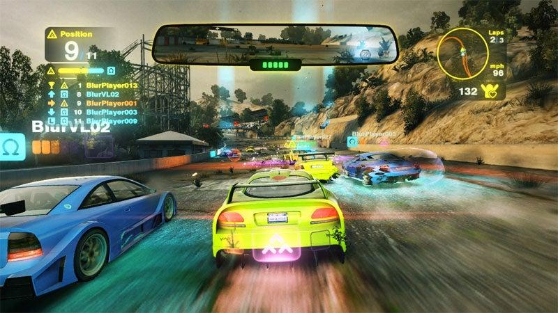 Blur Review: Rainbow Road Kill