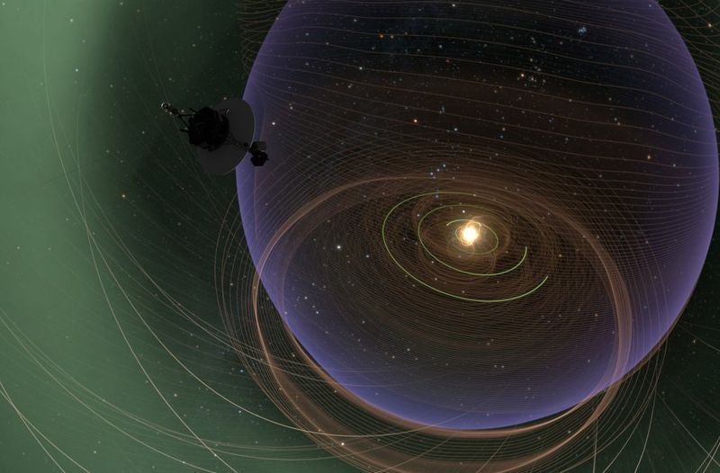 Voyager 2 Continues Its Long, Lonely Journey Into Magnetic Fluff