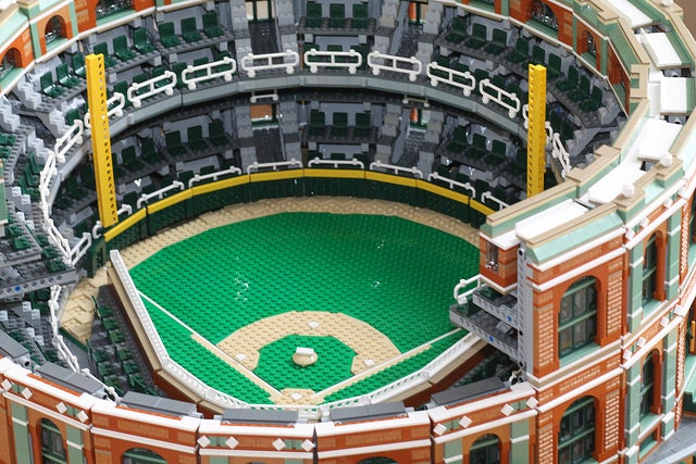 This Old Fashioned Lego Stadium Is Beautiful and Multifunctional