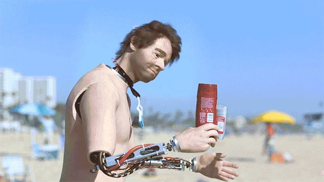 New Old Spice Mandroid Ads Hilariously Embrace the Uncanny Valley