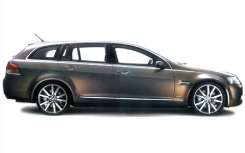 Holden VE Commodore Wagon Revealed (Again) Ahead of Show