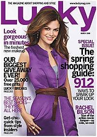"Lucky Magazine's Sexy, Glamorous ""Caption Dementia"""