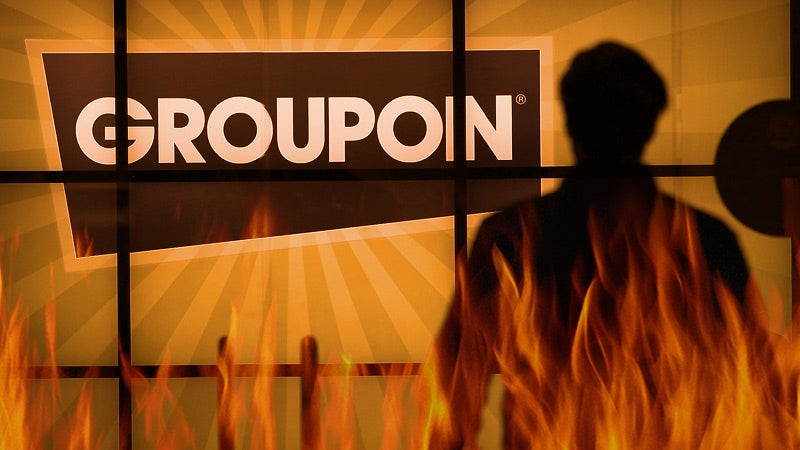 Who the Hell Is Going to Invest in Groupon?