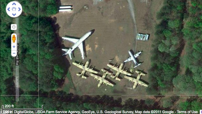 Libya's planes are rotting in Georgia