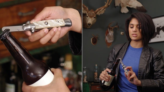 Crack a Beer With a Switchblade Bottle Opener and Feel Like the Badass You Absolutely Are Not
