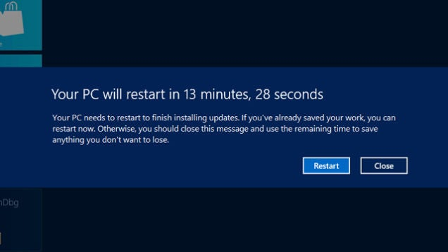 Go Update Windows Right Now