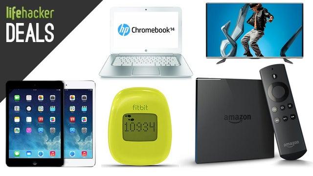 iPad Mini on Sale, Fitbit Zip, Oversized Chromebook, Multimeter