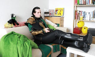 I'm up all night to get Loki!