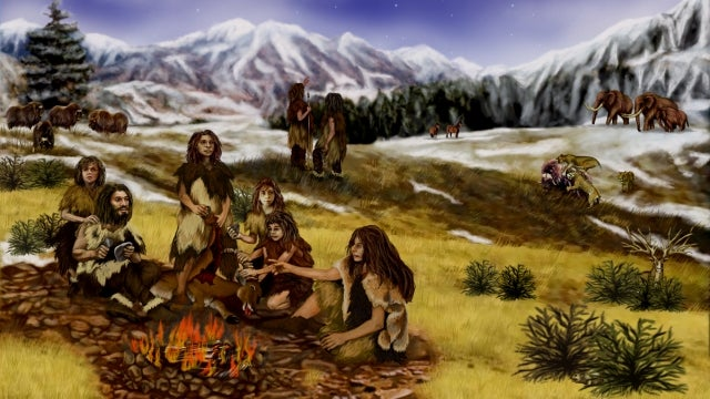 One of the hardest things for early humans to master was fire