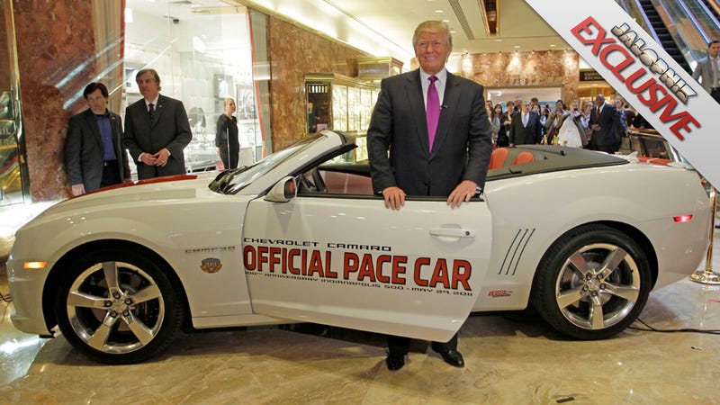 """Indy 500 to Donald Trump: """"You're Fired!"""""""